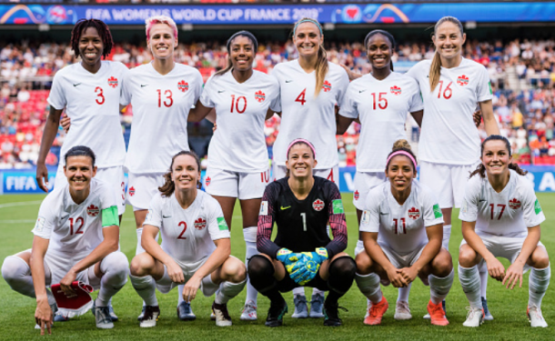 Canada WNT to play in 2019 Yongchuan Tournament in China. (Photo by Marcio Machado/Getty Images)
