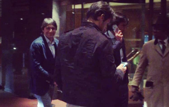 Conte snapped in London | photo 101greatgoals.com