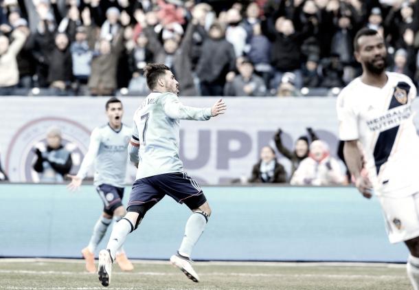 David Villa will return to the NYCFC lineup on Saturday. | Photo: Ashley Marshall / MLSGB.com