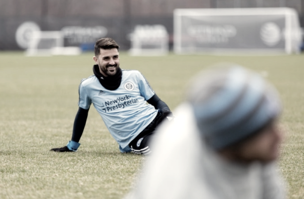 David Villa may make his return to the lineup on Wednesday. | Photo: New York City FC