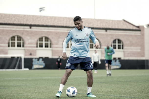 Ismael Tajouri-Shradi returns from injury. | Photo: New York City FC