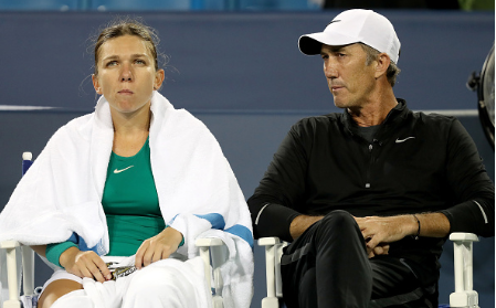 Cahill previously coached Halep for three seasons (Getty Images/Matthew Stockman)