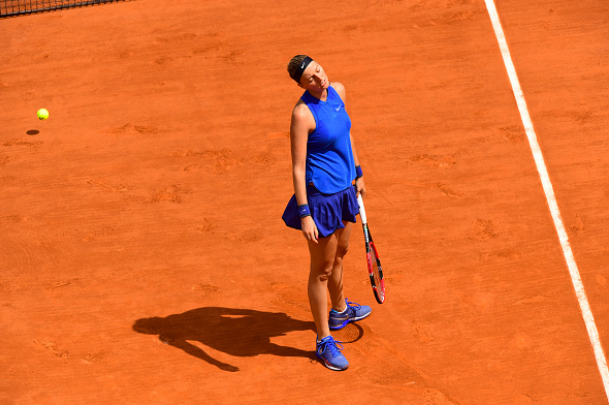 Kvitova exited the French Open in the third round after a disappointing loss to Shelby Rogers. Photo credit: Dave Winter/Getty Images.