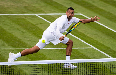 Kyrgios will likely approach the net as much as possible (Getty Images/TPN)