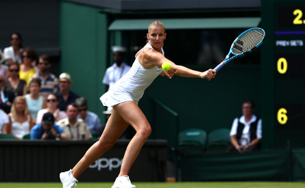 Pliskova played a very clean match to progress (Getty Images/Clive Brunskill)