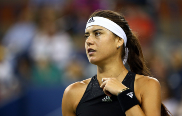 Sorana Cîrstea in a 2014 match at the US Open | Photo: Streeter Lecka / Getty Images