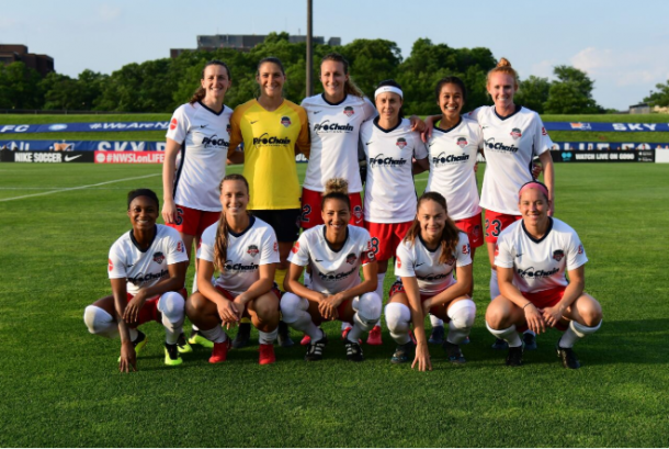 The Spirit lineup featured a lot of new faces for the match on Friday night. | Photo: Washspirit.com - Media B-Roll