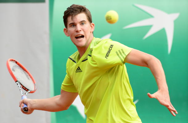Thiem steamrolls Tomic at French Open