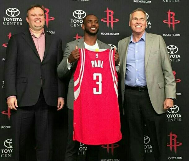 Fonte: Profilo Instagram Ufficiale Houston Rockets