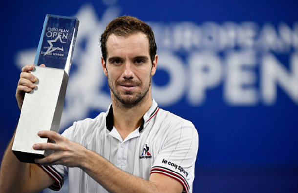 Richard Gasquet will be looking to defend his Antwerp title (Photo: Dirk Waem/Getty Images)