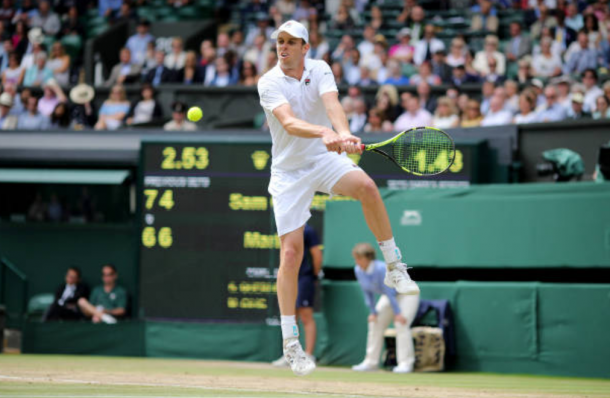 Second seed Sam Querrey hopes to continue his run in Mexico this year (Photo: Tim Clayton/Getty Images)