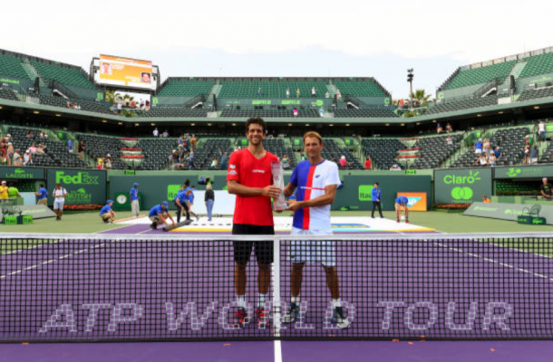 Lukasz Kubot and Marcelo Melo win their first Masters title (Photo: Tim Clayton/Getty Images)