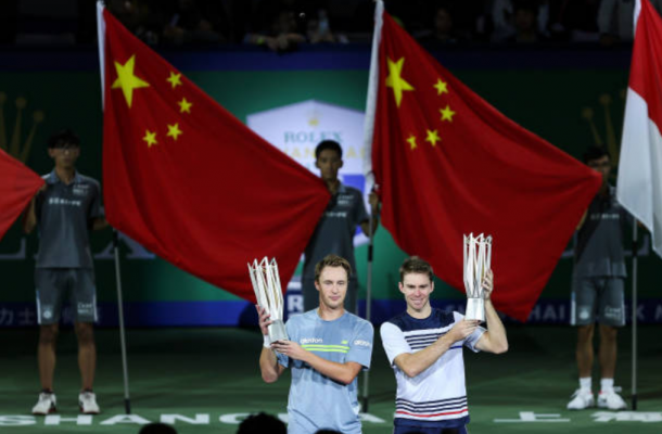 Henri Kontinen and Jhn Peers capture their one and only Masters title of the year (Photo: Ying Ding/Getty Images)