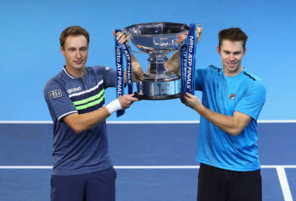 Henri Kontinen and John Peers make it a double in London (Photo: Clive Brunskill/Getty Images)