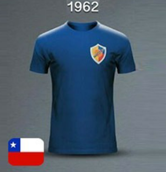Camiseta Selección Colombia Mundial Chile 1962 I Foto: FCF