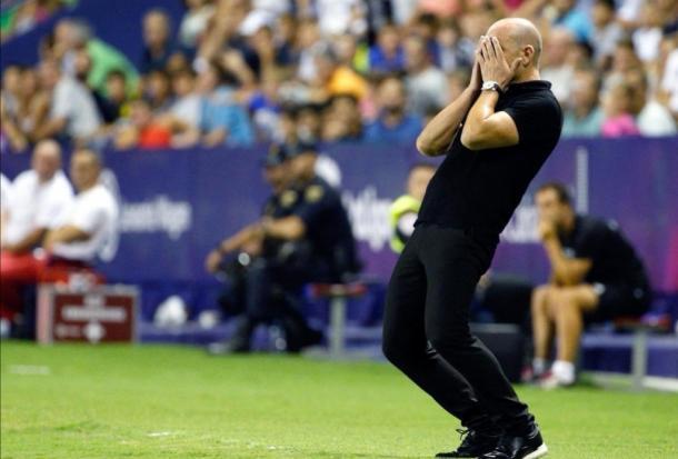 Paco López, entrenador del Levante / Fuente: levante.com