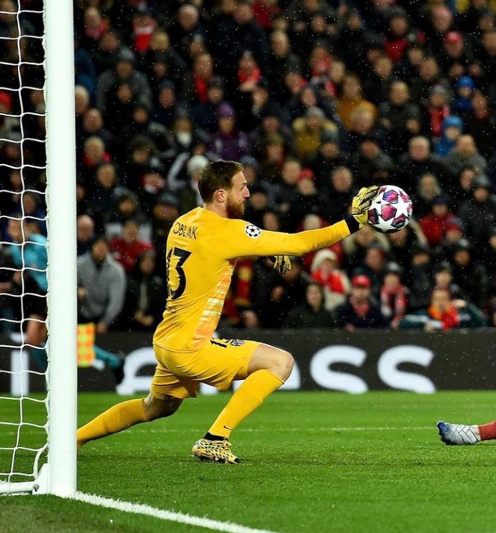 Noche mágica en Anfield. /Instagram: Jan Oblak oficial