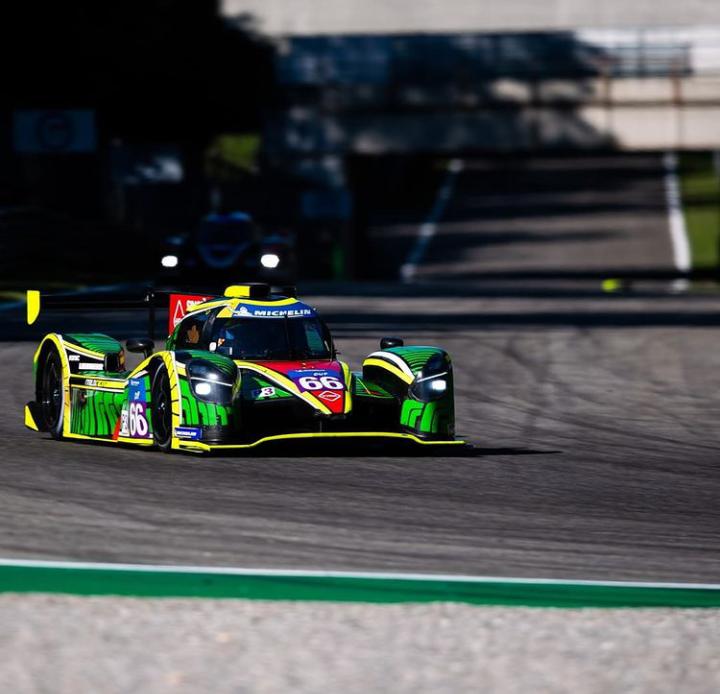 Nico Varrone a bordo del LMP3 de Rinaldi Racing: Foto Duqueine Automovile
