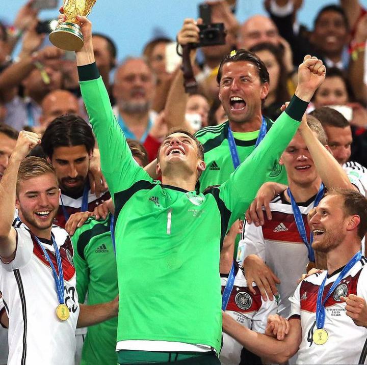 Twitter: Manuel Neuer oficial