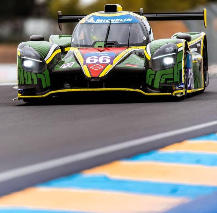 Varrone en el LMP3 de Rinaldi Racing: Foto Le mans cup