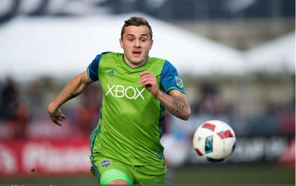 Seattle Sounders forward Jordan Morris (above) scored the game's only goal on Sunday. Photo credit: Daniel Petty/Getty Images Sport