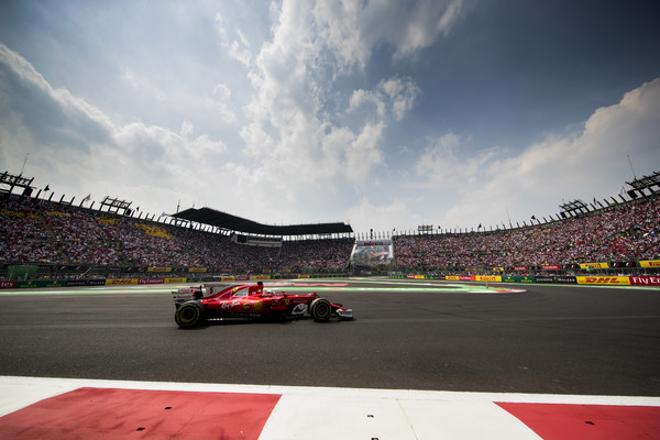 Sebastian Vettel, durante el GP de México. Foto: Scuderia Ferrari