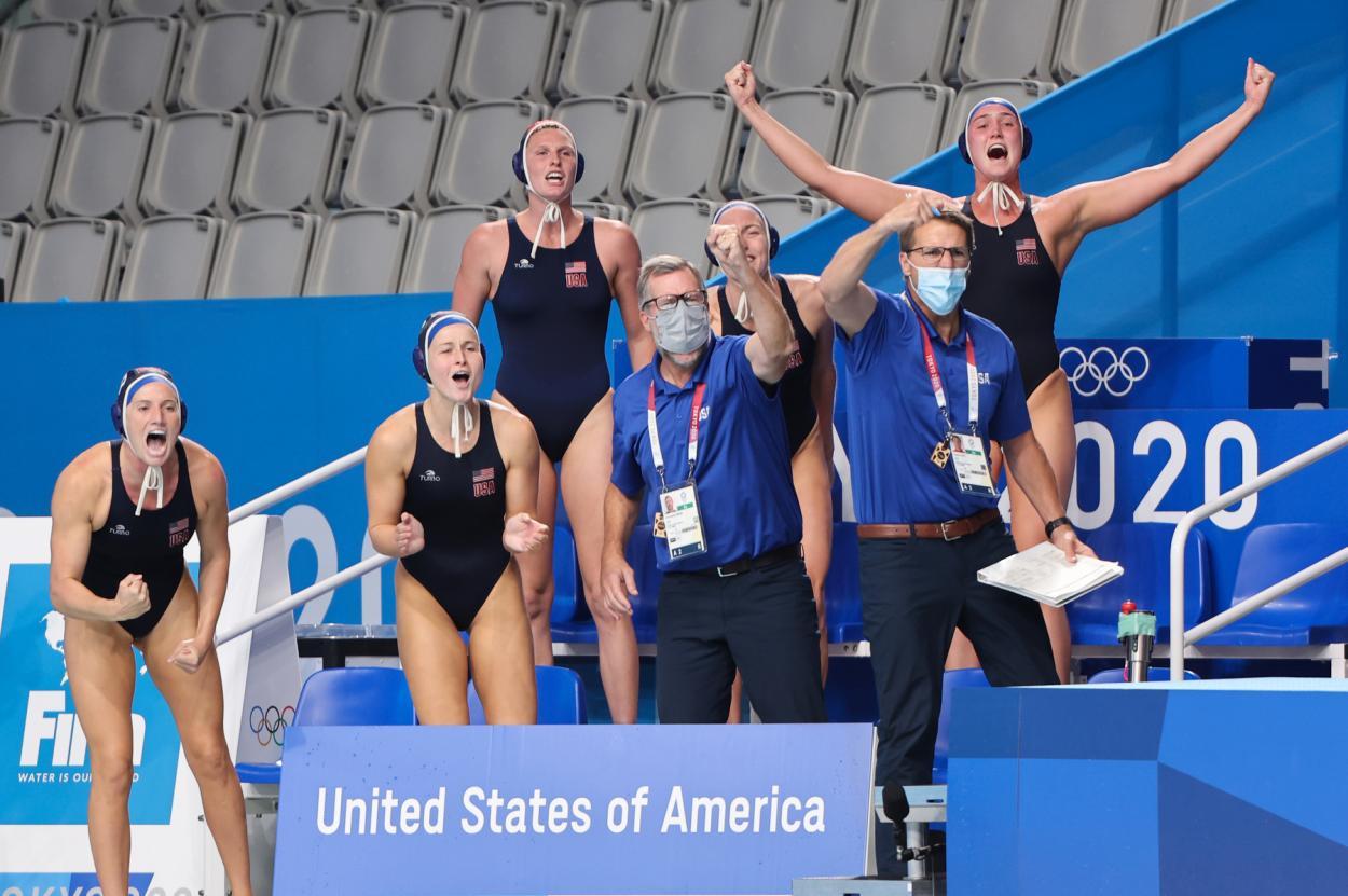 Selección de Estados Unidos de Waterpolo femenino en los Juegos Olímpicos // Fuente: Selección de Estados Unidos de Waterpolo