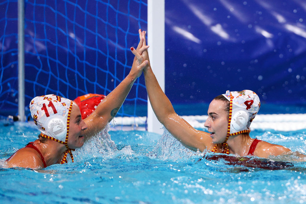 Spanish women's waterpolo team at the Olympic Games // Source: Olympic Games