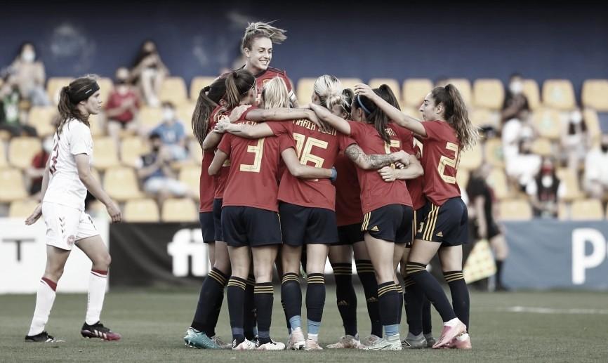 Selección Española Femenina //Foto @FedExFutbol