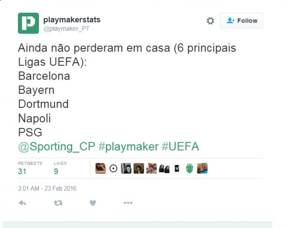 Foto: Twitter Playermarkerstats