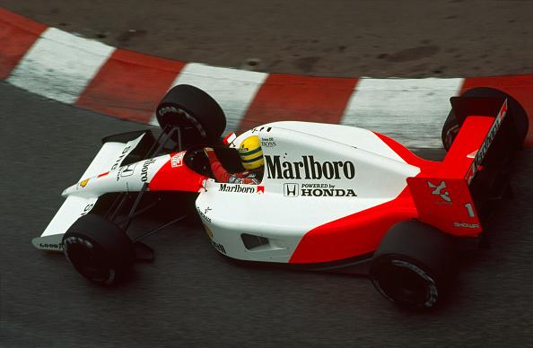 Ayrton Senna é o maior vencedor em Mônaco, com seis triunfos (Foto: Rainer W. Schlegelmilch/Getty Images)