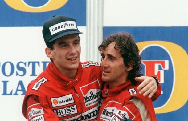 Senna e Prost na McLaren (Foto: Reprodução/McLaren)