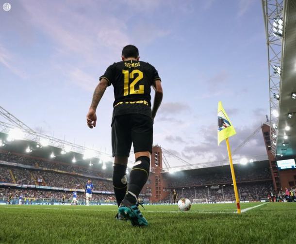 Stefano Sensi, el mejor jugador del Inter de la presente temporada / Foto: @Inter