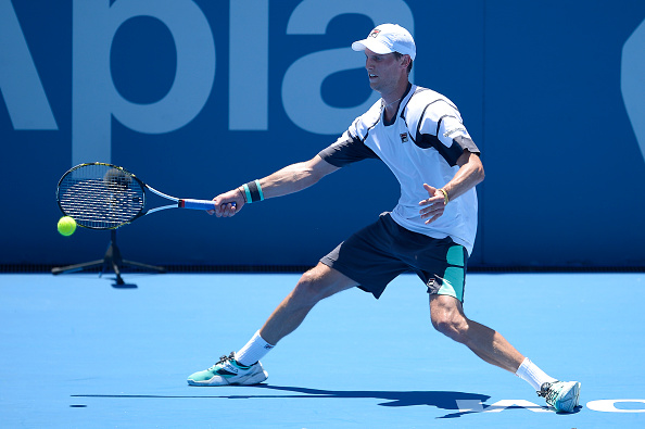 Andrea Seppi during the Sydney Open. | Photo: Getty Images Sport/Brett Hemmings