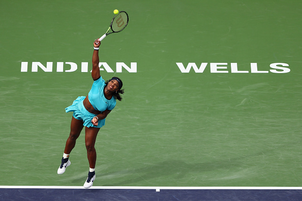 Williams has been near her best in Indian Wells (Getty Images/Julian Finney)