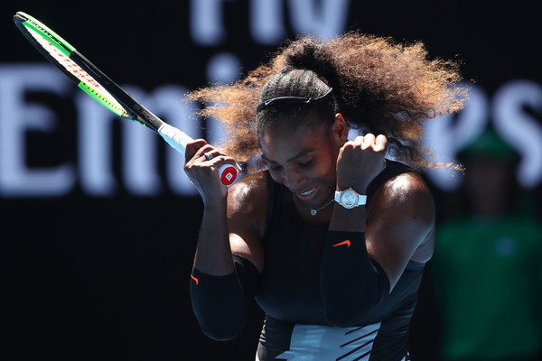 Serena Williams felt happy to have the win   Photo: Clive Brunskill/Getty Images AsiaPac