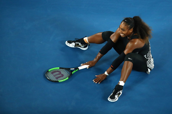 The moment: Serena creates history with a 23rd Grand Slam title | Photo: Cameron Spencer/Getty Images AsiaPac