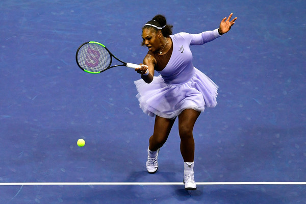 Williams' net play was incredible today | Photo: Sarah Stier/Getty Images North America