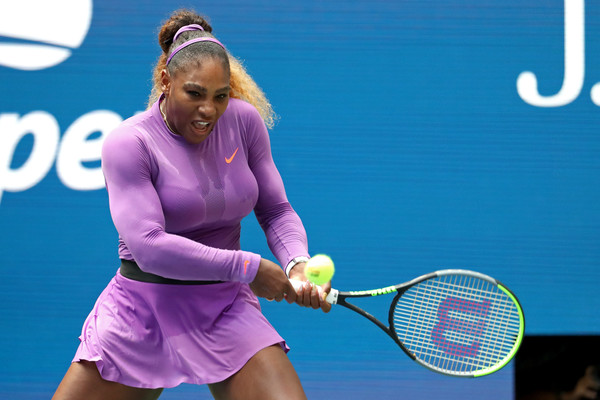 Serena Williams was absolutely dominant today | Photo: Getty Images North America