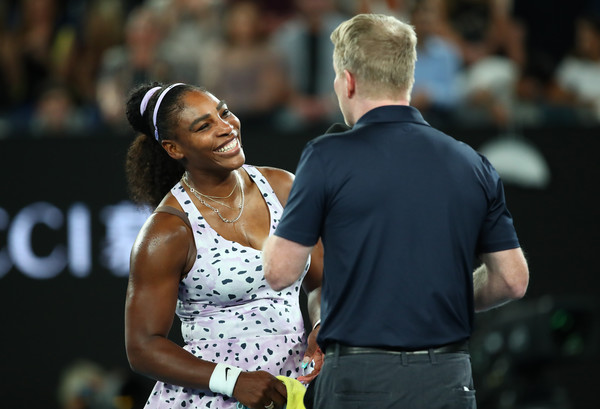 Williams at the Australian Open earlier this year (Image:AsiaPac)