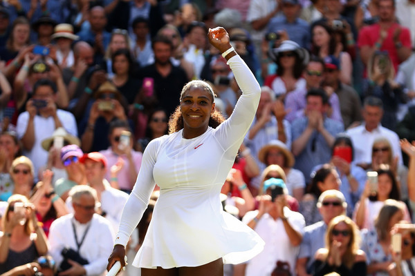 Serena is back: The GOAT is back into her first Major semifinal appearance of her comeback   Photo: Michael Steele/Getty Images Europe