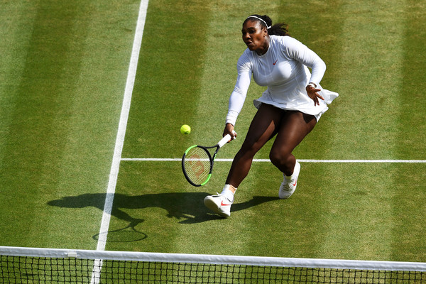 Serena Williams is asserting her authority across the court once more | Photo: Clive Mason/Getty Images Europe