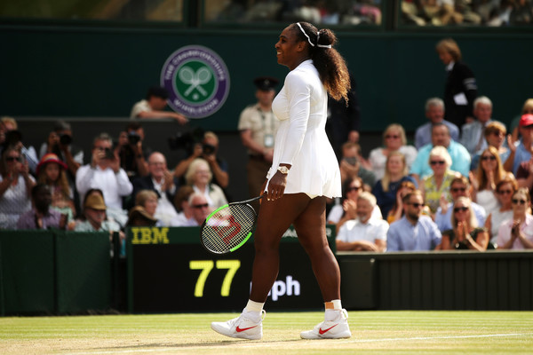 Serena Williams is returning to her winning ways after a difficult start into her comeback | Photo: Julian Finney/Getty Images Europe