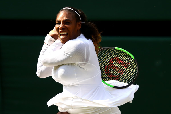 Serena Williams is projected to rise into the world's top-30 at least after this impressive run | Photo: Matthew Stockman/Getty Images Europe