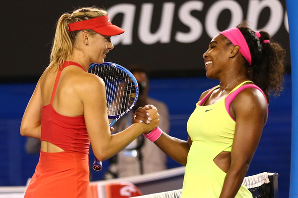 Williams has come out on the winning end of every one of her meetings against Sharapova since 2005, winning their last eighteen matches with seven of them in finals. Since 2005, she has beaten the Russian to win three Grand Slam, an Olympic gold medal, two Premier Mandatory and Premier 5 titles and one of her five year-end championship titles. | Photo: Clive Brunskill/Getty Images