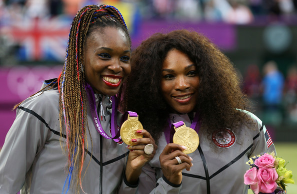 Venus and Serena in London. Photo: Clive Brunskill/Getty Images
