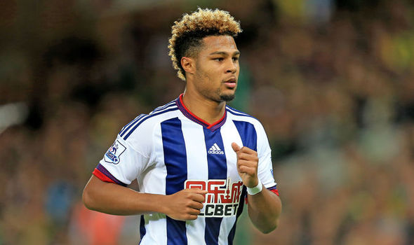 Gnabry in action for West Brom | Photo: Express
