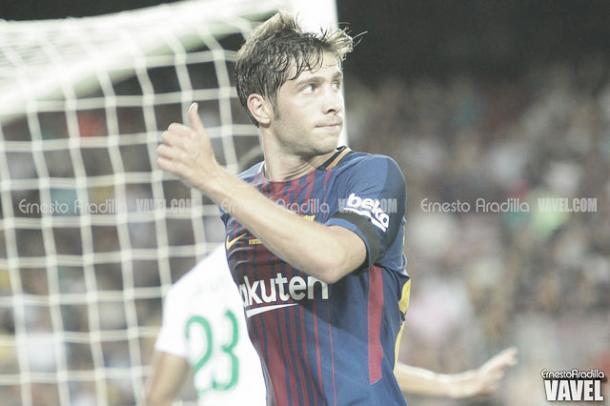 Sergi Roberto, indiscutible con Valverde | Foto: Ernesto Aradilla - VAVEL