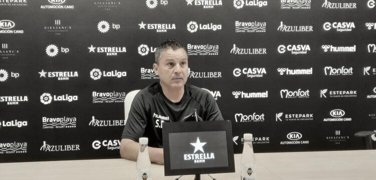 Sergi Escobar, actual técnico del CD Castellón. / Foto: CD Castellón.