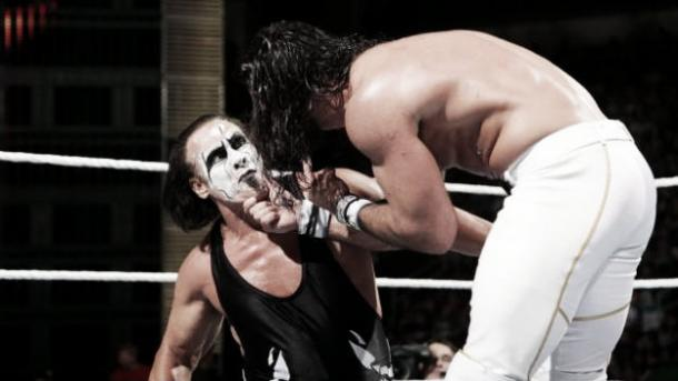 Seth Rollins was injured by Sting at Night of Champions (image: TheInqusitr.com)